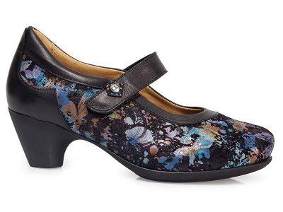 Calzado señora fashion flores