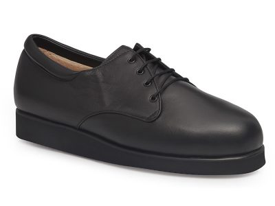 calzado ortopedico unisex negro