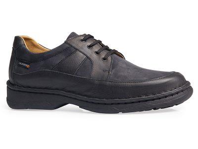calzado caballero cosido negro