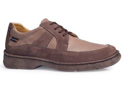 calzado caballero cosido marrón