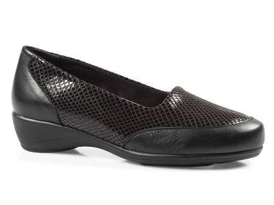 »Calzado señora casual negro