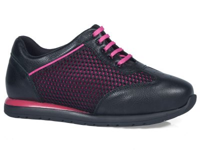 Calzado deportivo cordones negro