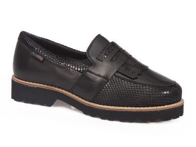 Calzado señora stretch negro