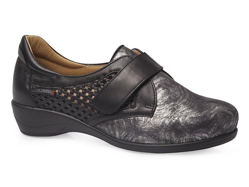 90b206dab Calzado ortopédico señora negro - Tus Zapatos Cómodos
